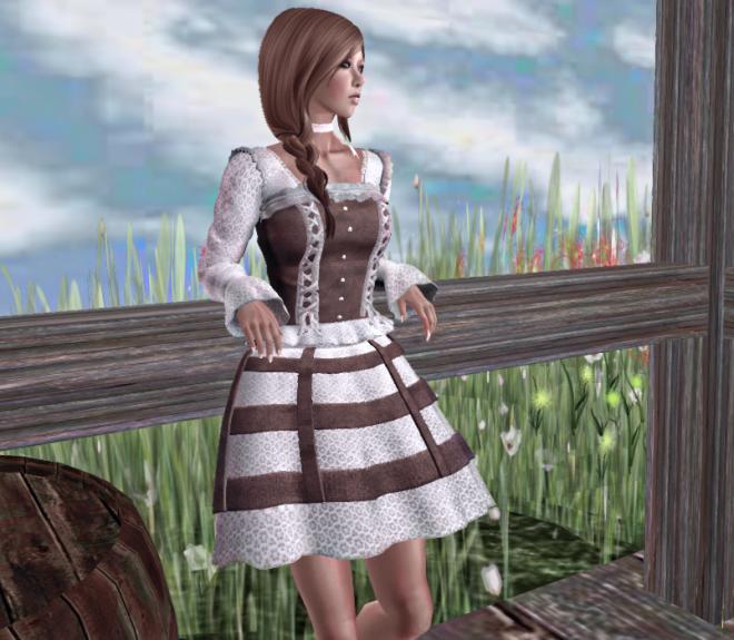 Jane Fitmesh Dress
