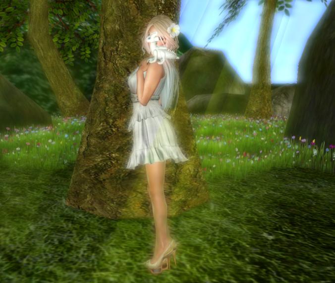 Ellise Fitmesh Dress 2