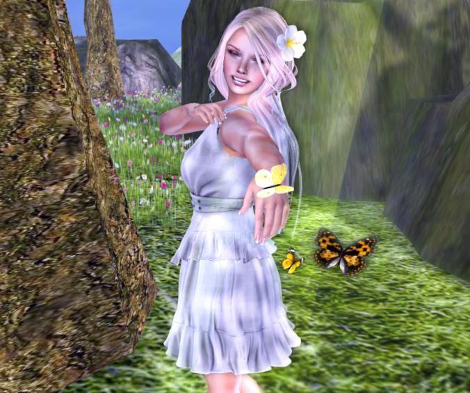 Ellise Fitmesh Dress