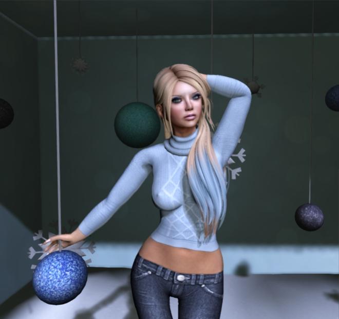 ViVi Josephine dk blue jeans & Sarah sweater blue final