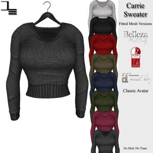 DE designs - Carrie Sweater