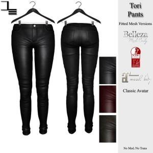 DE designs - Tori Pants
