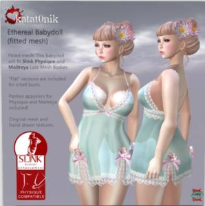 Katat0nik - Ethereal babydoll - Physique and Lara