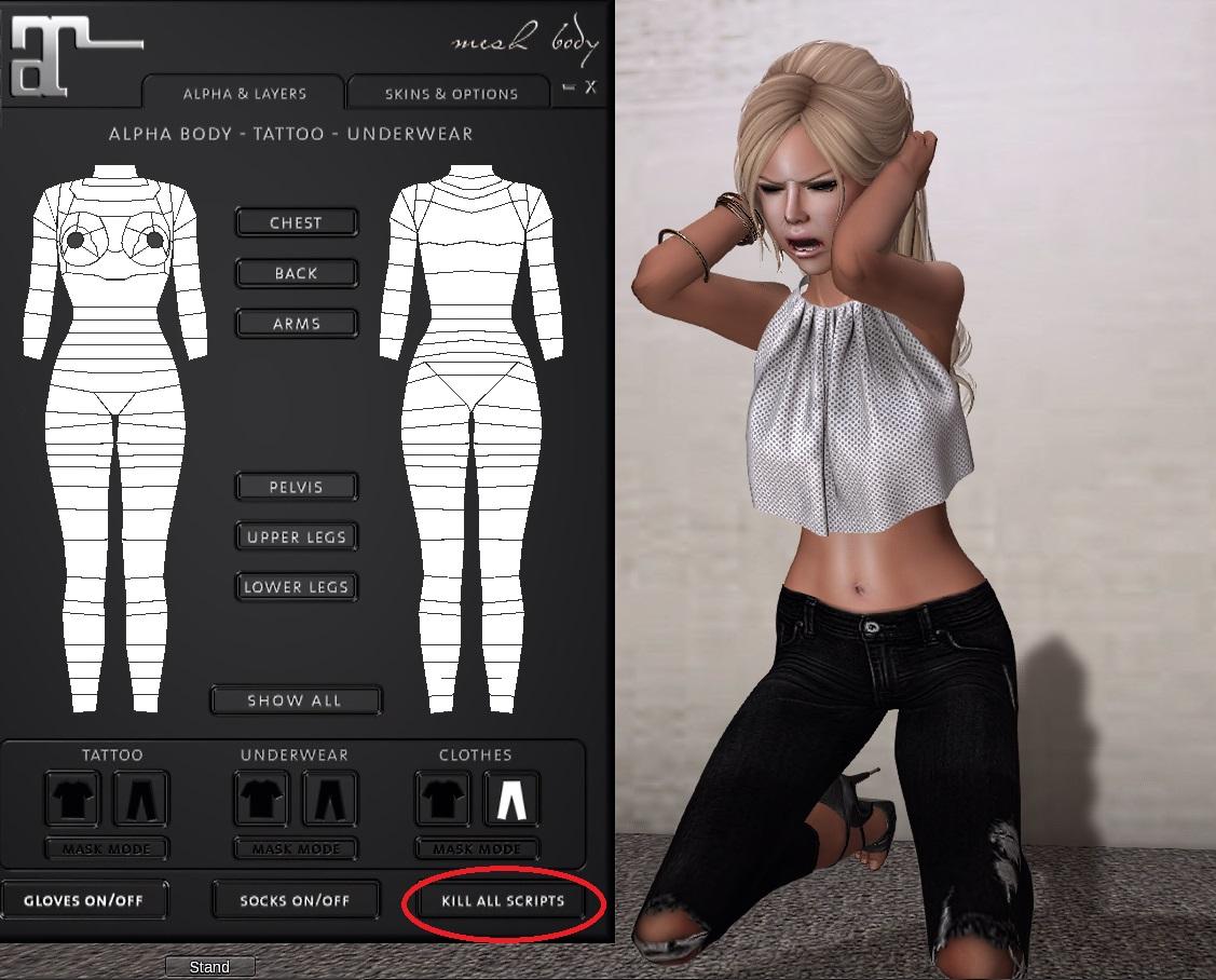 Mesh Bodies 102  Clothes and Saving Outfits - Mesh Body Addicts 6b1baf9b9b