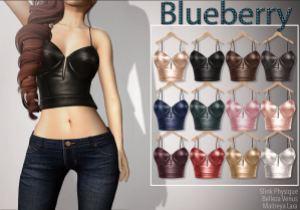 Blueberry - slink mait bell - bikers fair