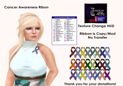 PIC - Cancer Awareness Ribbon