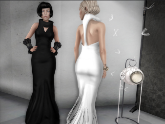 SYS - Corelia long dress, Slink mait tmp - at Sou by creation.jp