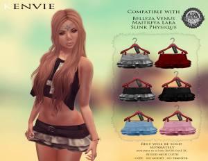 Kenvie - Mellys Skirt - Maitreya, Belleza & Slink - Black Fashion Fair