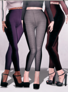 Miss Chelsea - High Waisted Pencil Leggings - Slink & Belleza