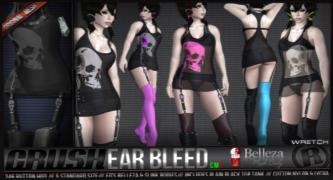 Razor - Ear Bleed - Black Fair - Belleza & Slink
