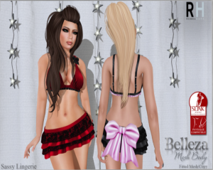 Rebel Hope - Sassy Lingerie - Physique, Belleza & Maitreya