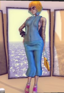 SYS - Jumpsuit - Shiny Shabby - TMP, Slink, Belleza, Mait