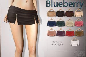 Blueberry - Laya skirt @ n21 - slink belleza maitreya