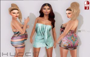 HUCCI - Saiha dress @ uber - slink and Maitreya