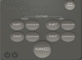 HUD - CLOTHING LAYERS CONTROLLER