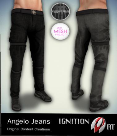 Ignition Art - Angelo Jeans - Gangsta Fair - TMP