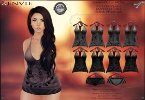 Kenvie - Shorts and tank - Belleza, maitreya and Slink