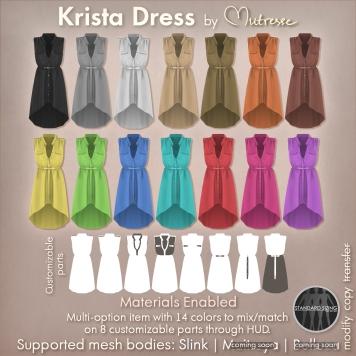 Krista-Dress-by-Mutresse - fameshed - slink