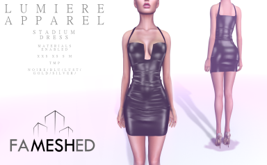 Lumiere Apparel - Fameshed - Stadium dress - TMP