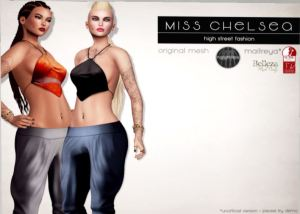 Miss Chelsea - handkerchief top & harem pants @ uber - maitreya, belleza and slink