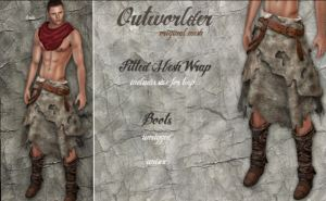 Outworlder - Wrap for men @ the secret affair - TMP