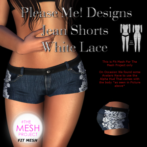 Please Me! designs - Jean Shorts - TMP