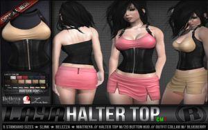 Raz0r - laya halter top @ n21 - Slink belleza Maitreya