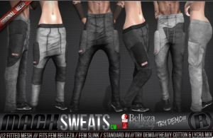 RAzor - Mack Sweats - Belleza and Slink