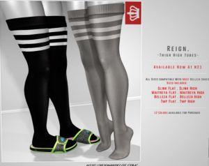 Reign - thigh high tubes @ n21 - TMP maitreya Belleza slink