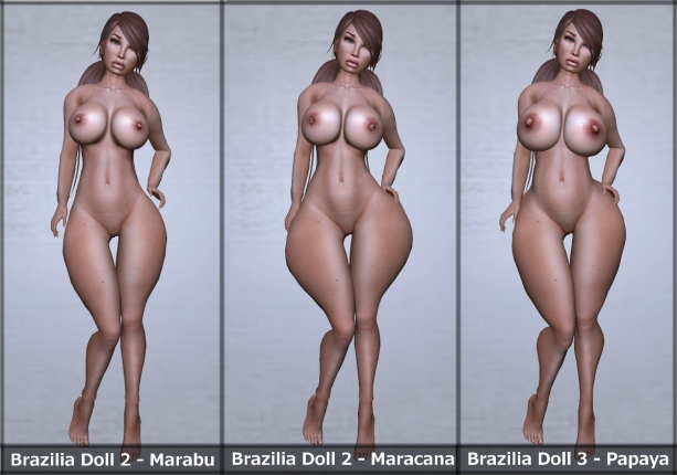 Sking Brazilia Dolls
