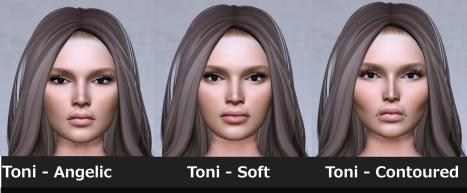 TONI HEADS