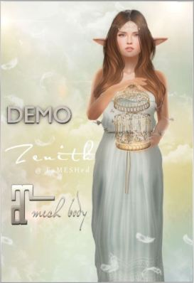 Zenith - Strapless long dress - Fameshed - Maitreya
