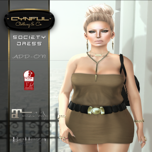 [Cynful] Society Dress Mesh Bodies Poster