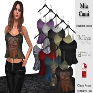 DE Designs - Mia Camis - Belleza Mait Slink