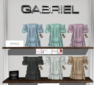 Gabriel - Clara Dress @ Kustom9 - TMP Mait Bell Slink