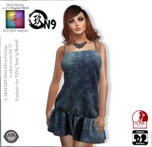 Lakshmi - Mimi dress @ on9 - slink