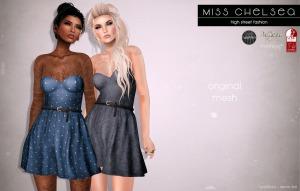 Miss Chelsea @ Uber - dress - Belleza Maitreya Slink