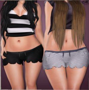 Muka - Petale shorts @ Chapter Four - Belleza Mait Slink