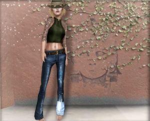 Sys - Madryn jeans and top @ On9 - slink mait belleza