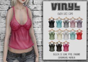Vinyl - Gwen Lace Cami