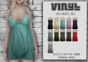 Vinyl - Lana Babydoll dress