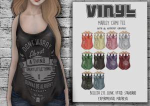 Vinyl - Marley cami tee