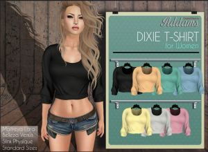 Addams - Dixie shirt (Mix) - slink belleza mait