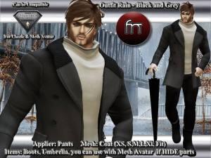 FN - Mesh coat - Aesthetic