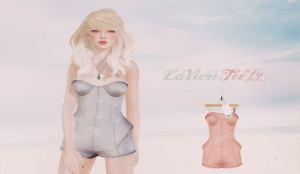 Laviere & teefy - Marina romper @ Collabor88 - Slink & Maitreya