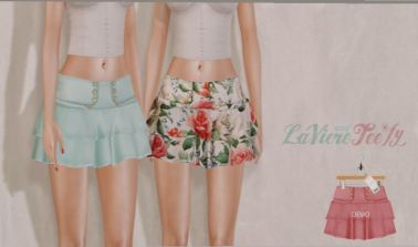 Laviere & Teefy - Skirt @ N21 - Maitreya & Slink sizes