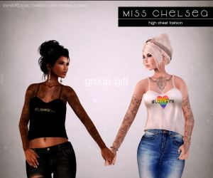 Miss Chelsea - free group gift top - Belleza, Mait & Slink