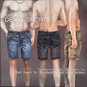 Pumpkin - shorts @ TMD - TMP