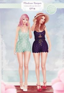 The Secret Store - Madison Romper @ Collabor88 - Slink & Maitreya