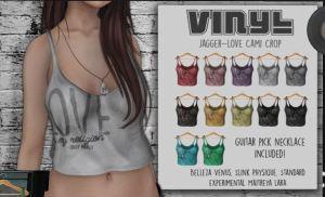 Vinyl - Jagger Love top @ PL - Slink, Mait, Bell Venus